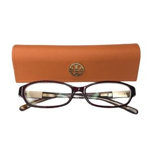 Tory Burch TY2014 Eyeglasses Burgundy Tort Frames